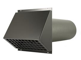 Geveldoorvoer WTW ventilatiesysteem D