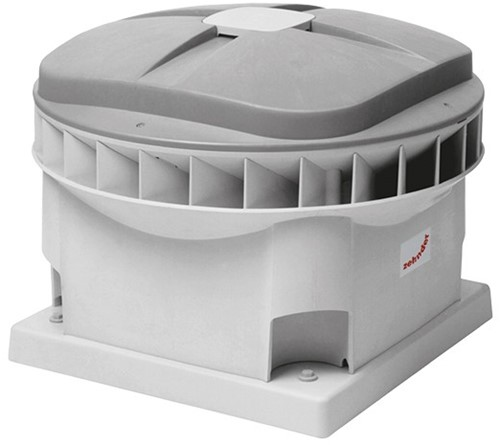 Zehnder - J.E. StorkAir dakventilator MX110 2005m3/h met werkschakelaar - 230V
