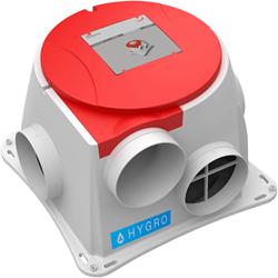 Zehnder ComfoFan S P Hygro ventilator + vochtsensor - perilex stekker