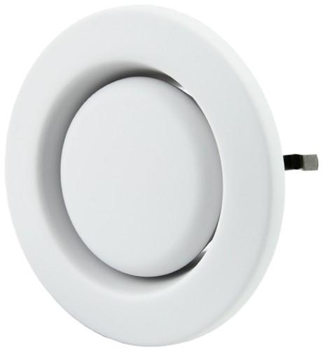 Zehnder Ventilatie afvoer ventielen kunststof 125mm signaalwit - STC 100/125