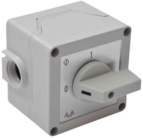 Zehnder werkschakelaar MX/VDA/VDX/DAP BS3 3-polig CA10
